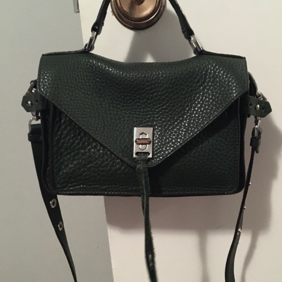 Rebecca Minkoff Darren small Satchel in green